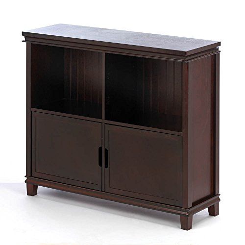 Koehler Home decor Espresso Wood Cabinet