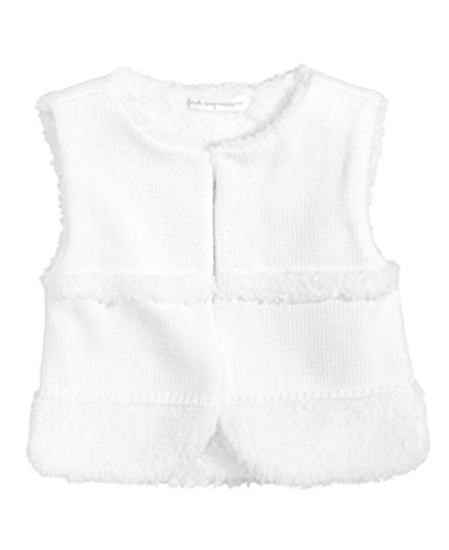 First Impressions Sweater - First Impressions Fleece-Trim Sweater Vest, Baby Girls (18 Months)