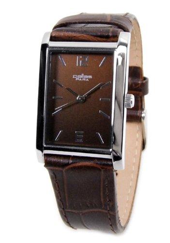 Pallas Para bar-7627.40.13 - Reloj para mujeres, correa de cuero color marrón: Amazon.es: Relojes