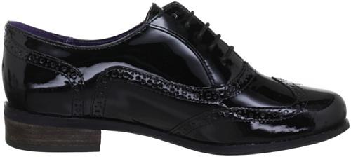 Black casual mujer 203467135 Negro cuero Zapatos de Pat Hamble Oak Clarks para RwBv6v
