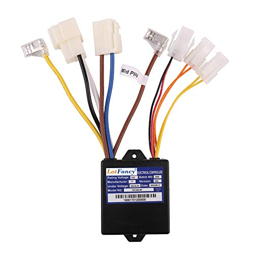 - LotFancy 12V Controller with 7 Connectors for Razor Power Core E90 Electric Scooter, Model No: ZK1200-DH, Scooter Controller, Razor Scooter Parts