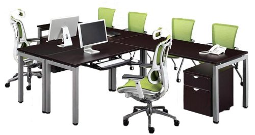 L Shaped Desk For Two