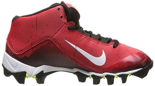 Jongens Nike Alpha Haai 2 3/4 Breed Voetbal Cleat Universiteit Rood / Zwart / Wit