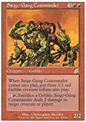 Siege-Gang Commander MTG Scourge Magic The Gathering