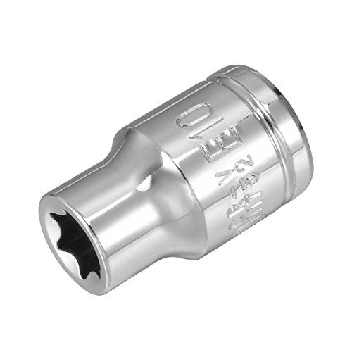 (uxcell 3/8-inch Drive E10 External Torx Shallow Socket, Cr-V Steel)