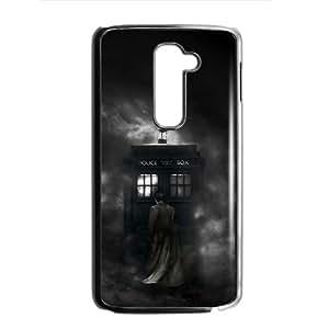Custom Dr Who Tardis Police Call Box Protective Skin Case for LG G2