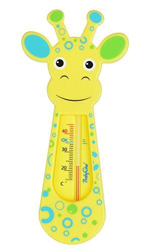 Schwimmende Badethermometer - gelb Giraffe 7308