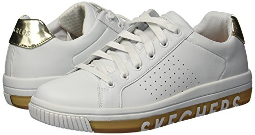 On White Skechers Step Wtgd Sweet Gold Street Blanco Mujer It Zapatillas para tqqTr4wUxz