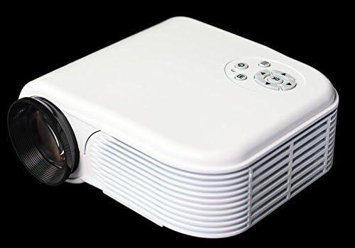 Mini Proyector, Digital LED TV Pico Proyector Portátil para Cine en ...