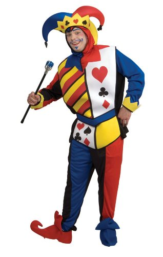 Rubie's Costume Co Playing Card Joker Costume, Large