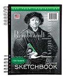 Bulk Sketch Books, w/pocket, 11x8.5, 60# paper, white, 100 Sheets: Roaring Spring 53101 (12 Sketch Pads)