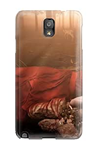 Awesome Defender Tpu Hard Case Cover For Galaxy Note 3- Fantasy Girl 12 3169716K33018687