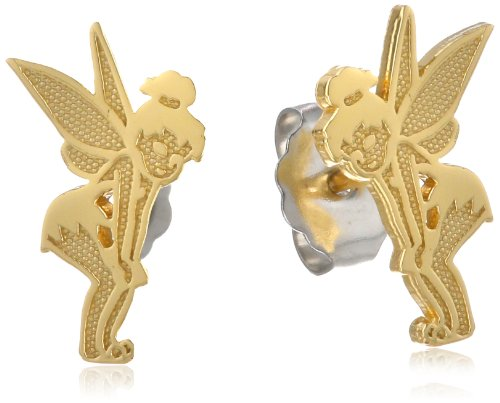 Disney Tinkerbell Sterling Silver Stud (Disney Tinkerbell Earrings)