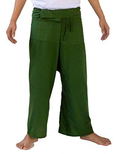 RAYON Thai Fisherman Pants Yoga Trousers FREE SIZE Plus Size Rayon