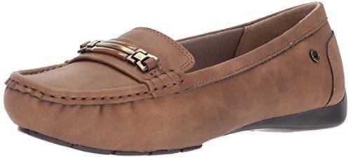 LifeStride Women's Vanity Slip-On Loafer tan 7.5 M US