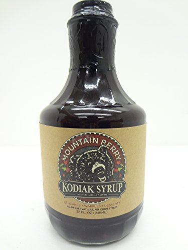 Mountain Berry Kodiak Syrup, 100% Pure & All Natural, 32 Fl ()