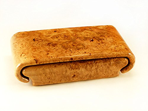 Lace Maple Burl Box by Wood Box Art