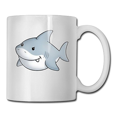 MIFNNN2 Fat Shark 3D Durable Cool Coffee Cup,Our Shop Has More Beautiful Products.