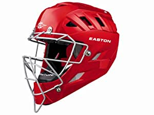 Easton Surge Catchers Helmet, Red, Large