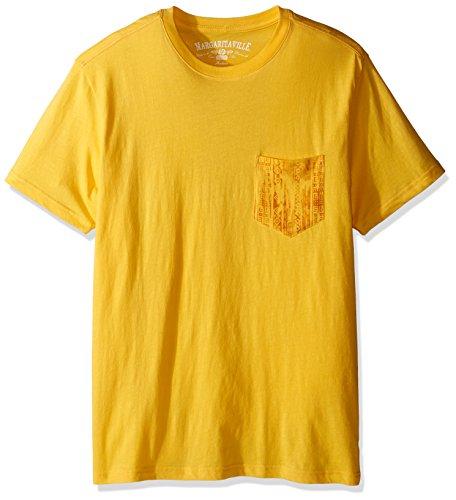 Margaritaville Men's Short Sleeve Club Scene Pocket T-Shirt, Yarrow, XX-Large