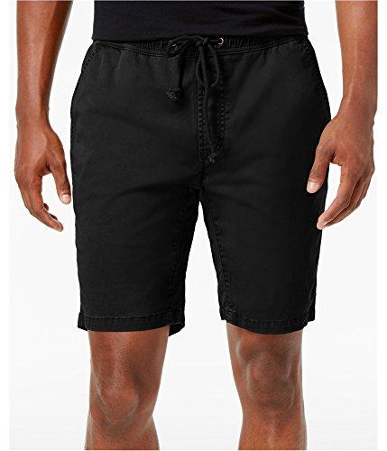 American Rag Mens Classic-Fit Stretch Casual Shorts Black XL