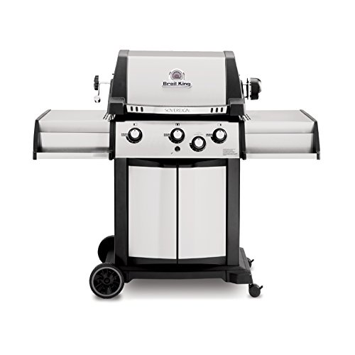 Broil King 987837 Sovereign 70 Natural Gas Grill with Rear Rotisserie Burner and Kit Onward Manufacturing