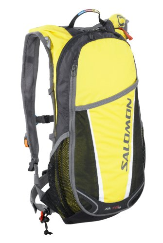 Salomon Men's XA 10+3 Exp Insulated Set, Canary Yellow / Asphalt, One Size Fits All, Outdoor Stuffs