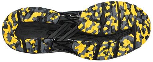 2000 5 Fusion Gt Gold Running da Asics Scarpe PLASMAGUARD Nero Carbon Trail Uomo Black EqgxFp5w