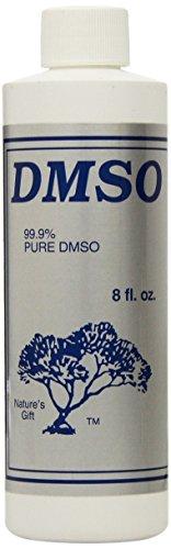 Nature's Gift 99.9% Pure DMSO Liquid, Plastic, 8 Fluid Ounce