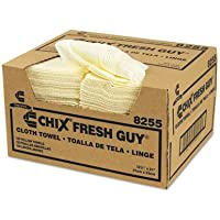 CHI8255 - Chix Fresh Guy Towels, 13 1/2 X 13 1/2, Yellow