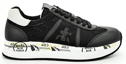 Scarpe Conny 2017 1806 Sneakers Donna Alta Autunno Inverno Premiata Nero 38 PgxPwUq