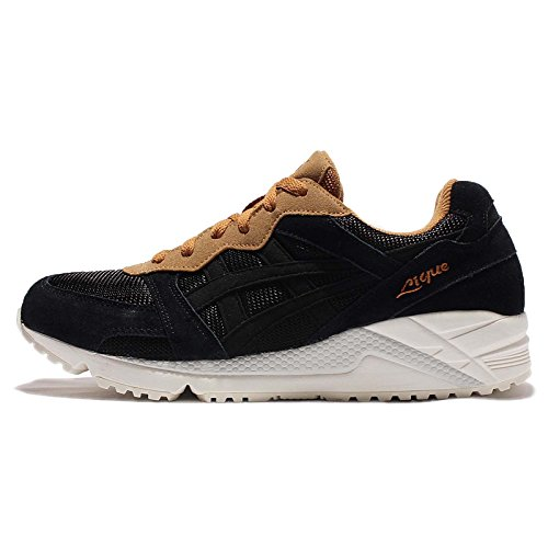 Asics Mens Gel-lique, Nero / Cathay Spezia, 27 Cm