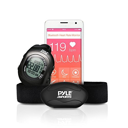 Pyle Fitness Monitor Bluetooth Tracking