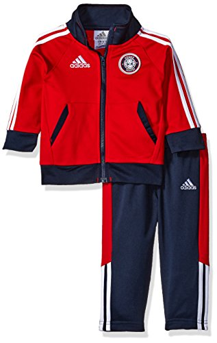 red adidas tracksuit - 8