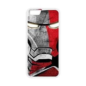 "Hjqi - Customized Iron Man Phone Case, Iron Man DIY Case for iPhone6 4.7"""