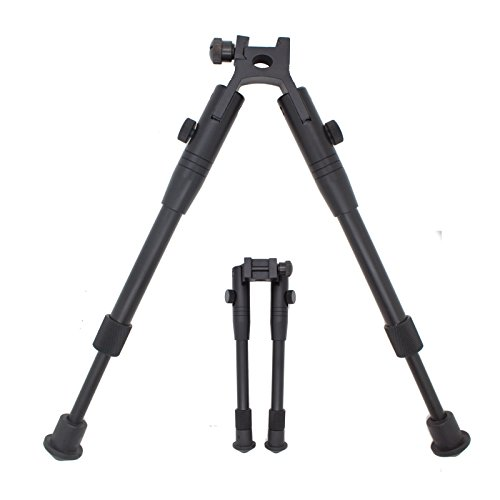 (Tactical Adjustable Picatinny Hunting Sniper Rifle Bipod w/Mount)