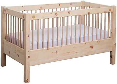 Rejilla cama con somier de 70 x 140 cm Zirbenkissen cama cuna ...