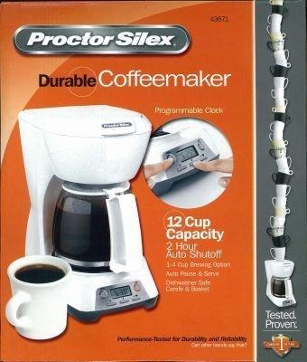 Coffeemaker Dig Wht 12c