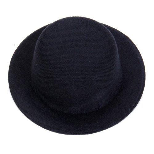 Gleader Ladies' Mini Top Hat Fascinator for Evening Party or Burlesque - Black 014379