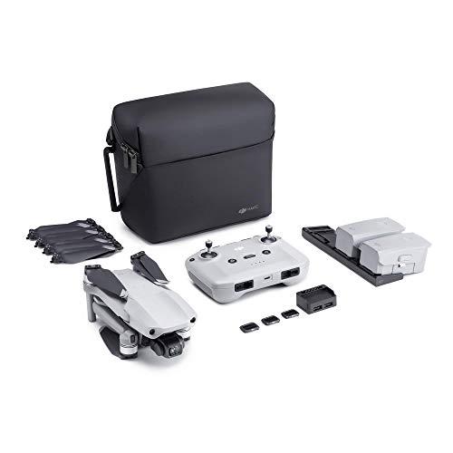 DJI Mavic Air 2 Fly More Combo – Drone Quadcopter UAV with 48MP Camera 4K Video 1/2″ CMOS Sensor 3-Axis Gimbal 34min Flight Time ActiveTrack 3.0, Grey (Renewed)