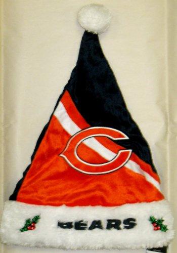 FOCO Chicago Bears Swoop Logo Santa Hat -
