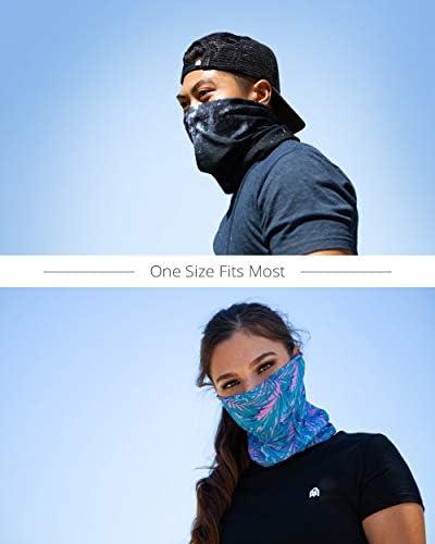COOL NECK GAITER MASK FOR MEN & WOMEN - FULL FACE COVERING BALACLAVA IHEARTRAVES