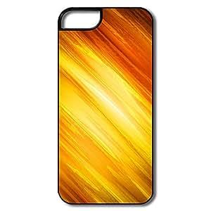 Custom Protective PC Dirt Poof Yellow Orange Iphone 5s Cases