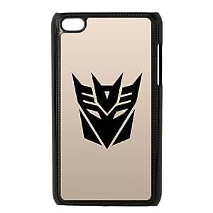 iPod Touch 4 Case Black Transformers U1I8NQ