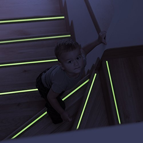 Ebung Anti Slip Stair Grip Tape Glow In The Dark 14