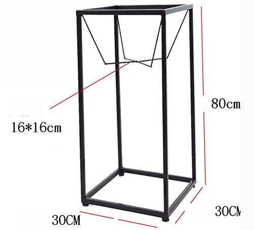Creative flower frame iron simple fashion metal flower rack ( Size : 303080cm )