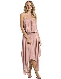 Smock Waist Sleeveless Dress (5 colors)