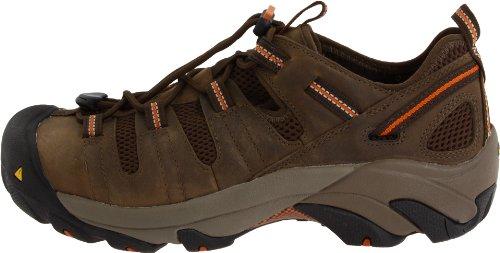 KEEN Utility Men's Atlanta Cool Steel Toe Work Shoe,Shitake,10.5 D  US
