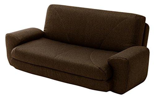 セルタン ソファベッド 「COLICO」 タスクブラウン A19a-582BR B06XFP1XC6 タスクブラウン タスクブラウン