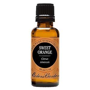 Sweet Orange 100% Pure Therapeutic Grade Essential Oil by Edens Garden- 30 ml